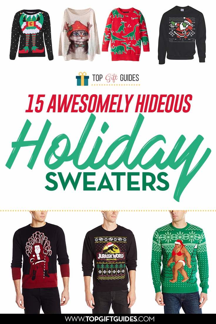 15 Awesomely Funny Holiday Sweaters | Top Gift Guides